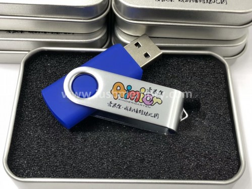 SM-114 twist usb memory sticks as promotional gifts