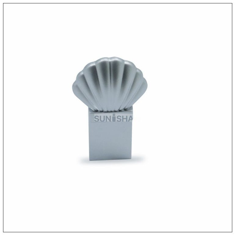 SM-007 shell shaped aluminum 16gb usb flash drive from Chinese supplier