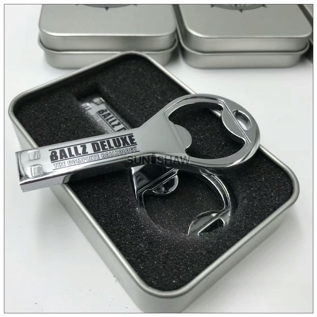SM-009 bottle opener shaped 4gb metal usb stick with laser or printed logo