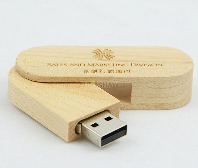 SD-005 Wooden memory stick gift for marriage couples