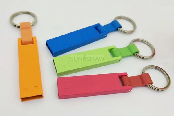 SM-035 Unique shaped metal usb with colorful option and customized logo