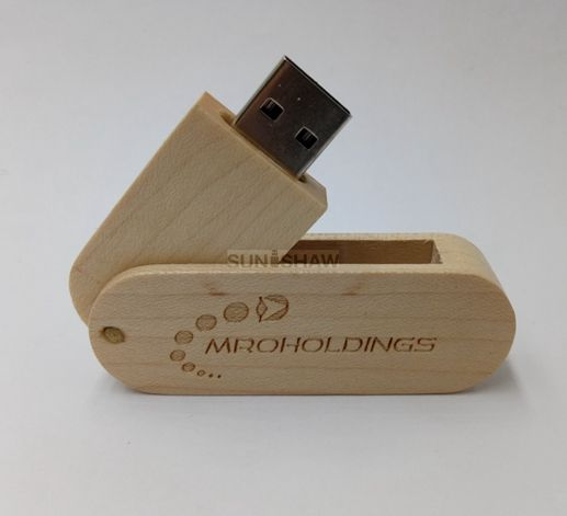 SD-010 Low cost wooden usb flash drive as promotional gift