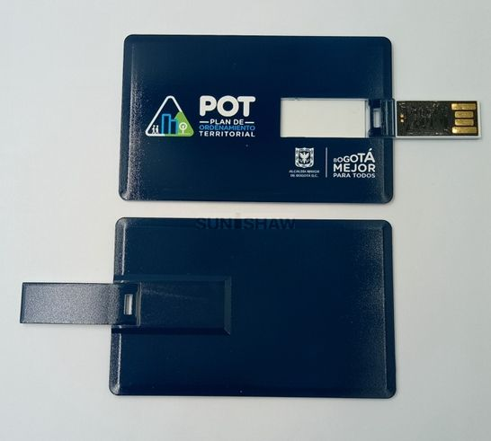 SC-002 Plastic card usb flash drive as promotional gift