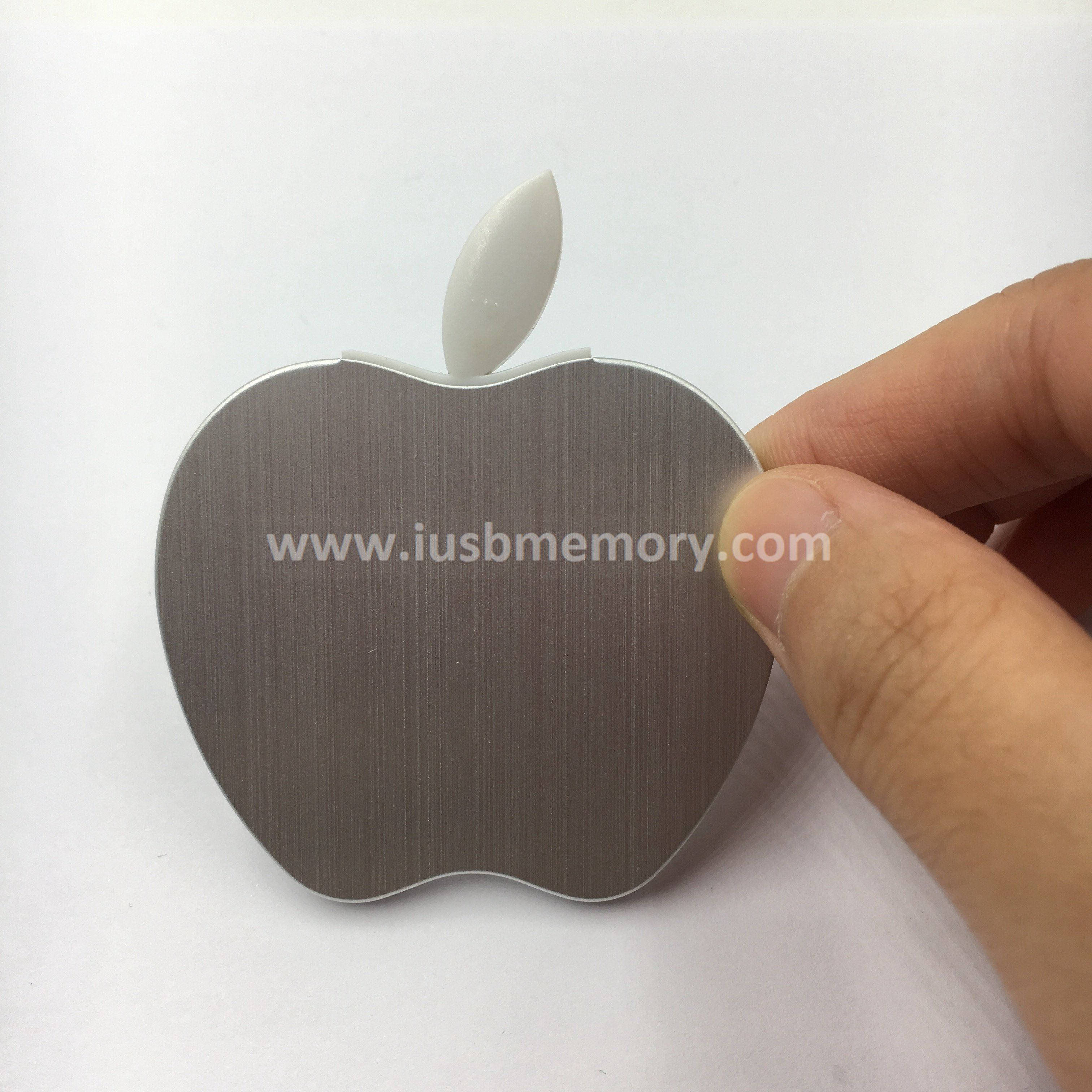 SM-115 aluminium apple shape aluminium usb flash drive