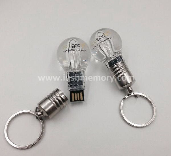 SR-006 personalized bulb shaped usb memory