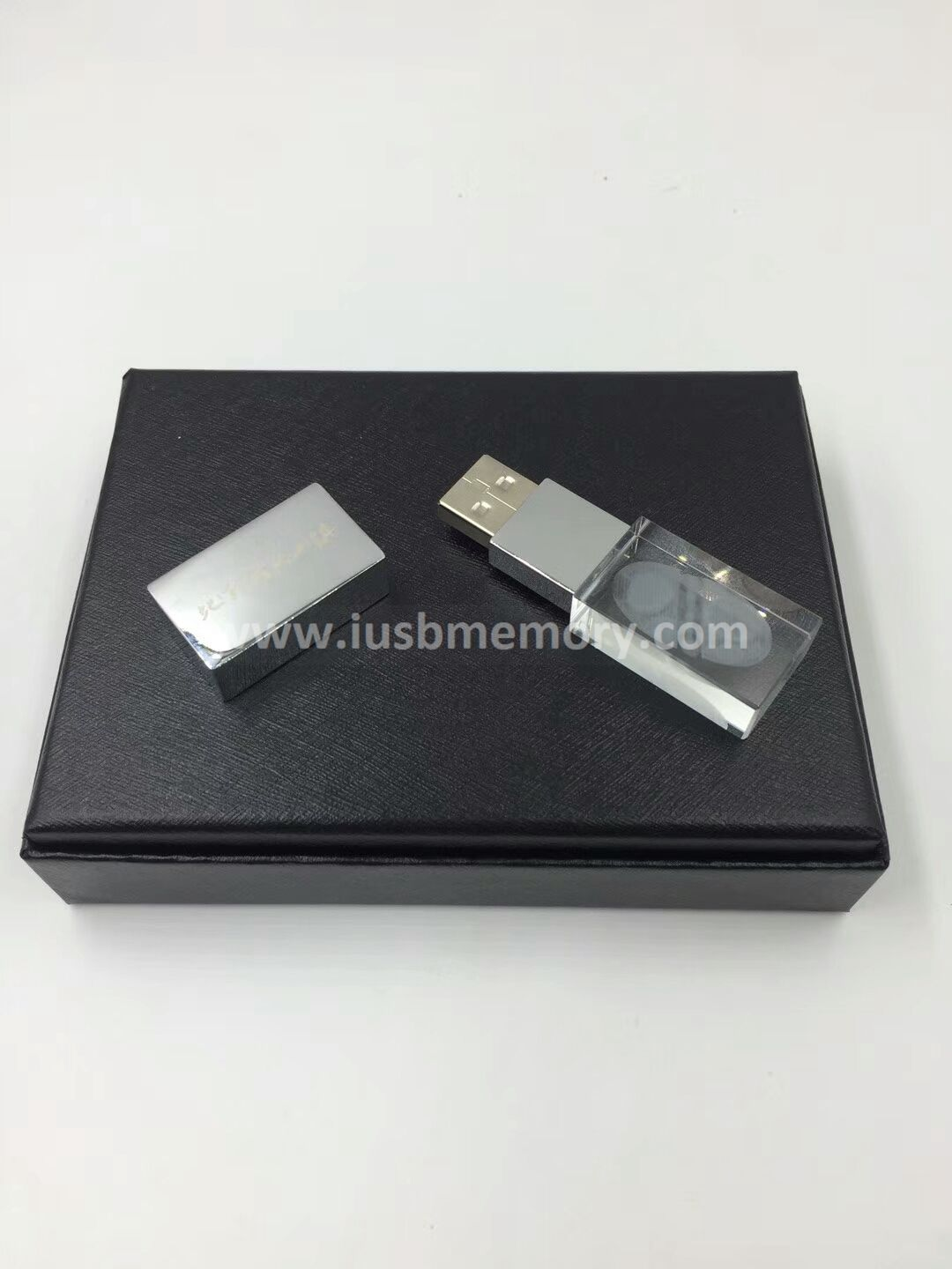 SR-011 crystal usb memory with LED light