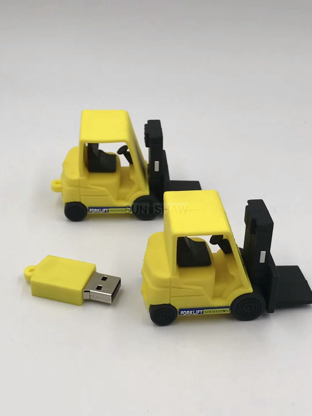 SV-011 Forklift shaped pvc usb memory as company gift