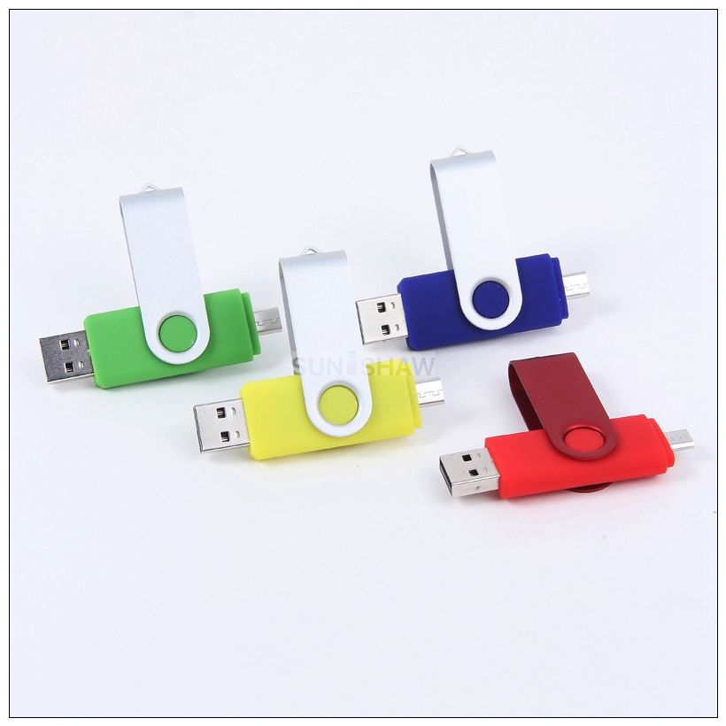 SM-018 2 in 1 usb memory for computer and Andriod phone