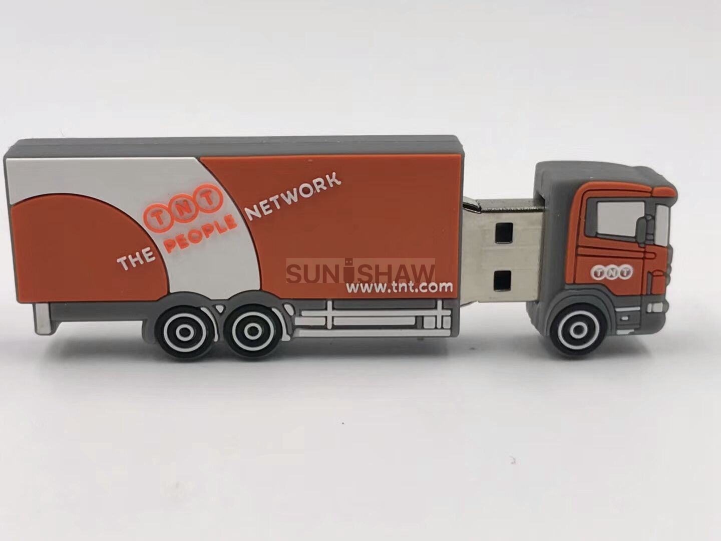 SV-016 Truck shaped pvc usb memory for TNT with branded logo