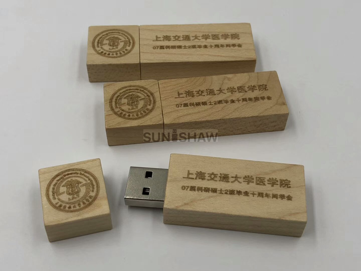 SD-007 Cheap wooden usb flash drive with whole sale price