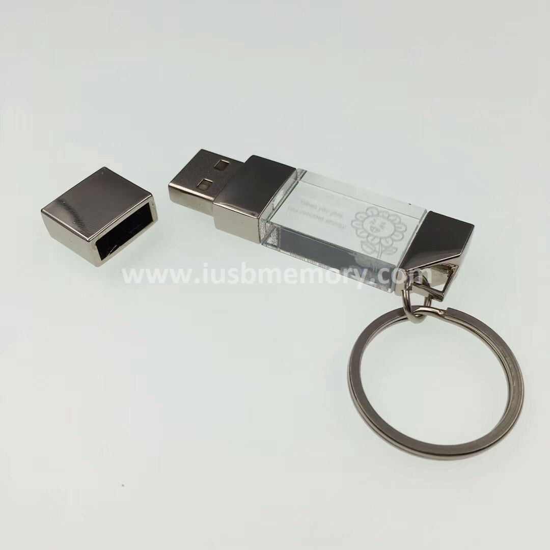 SR-012 novel crystal usb memory as marketing solutions